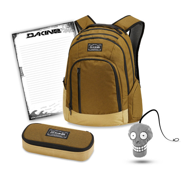 Dakine 101 29L + School Case XL + Harry Block Schulset Tamarindo