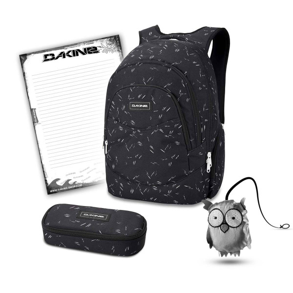 Dakine Prom 25L + School Case + Emma + Block Schulset Slash Dot