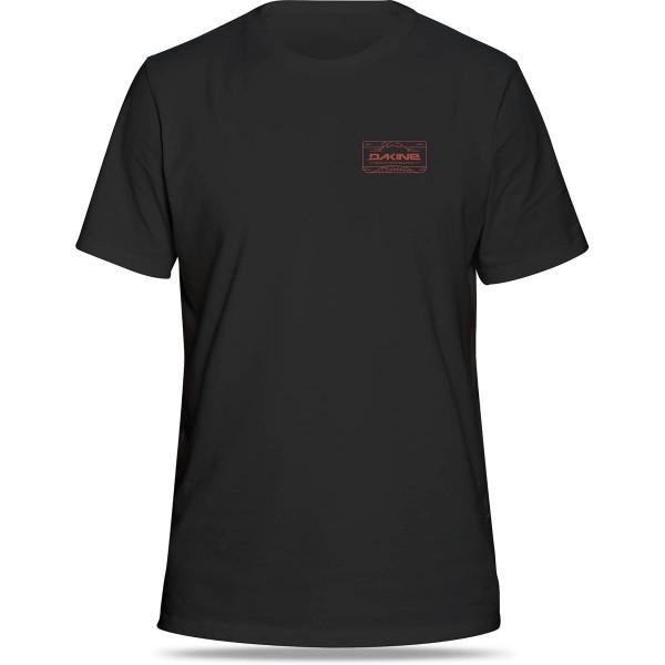 Dakine Peak To Peak T Shirt Washed Black