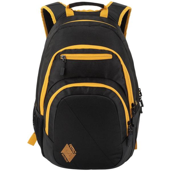 Nitro Stash 29L Rucksack mit Laptopfach Golden Black