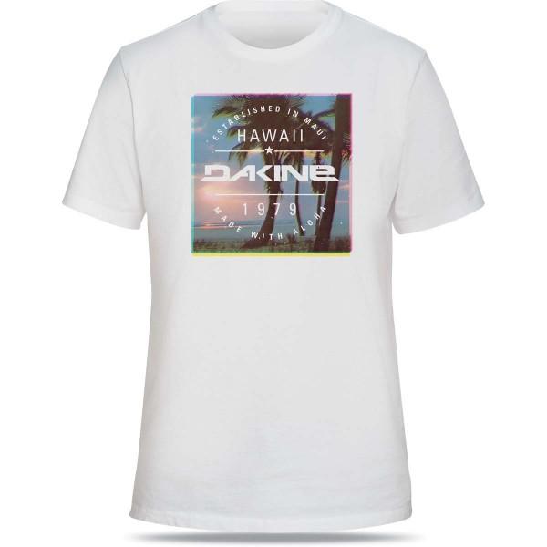 Dakine Postcard Palms Herren T-Shirt White