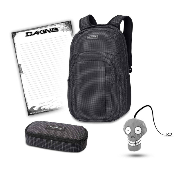 Dakine Campus L 33L + School Case + Harry + Block Schulset Rincon
