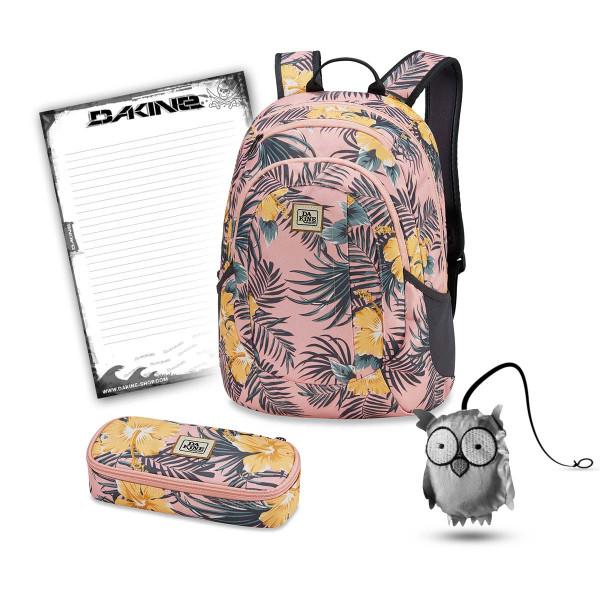 Dakine Garden 20L + School Case XL + Emma + Block Schulset Hanalei