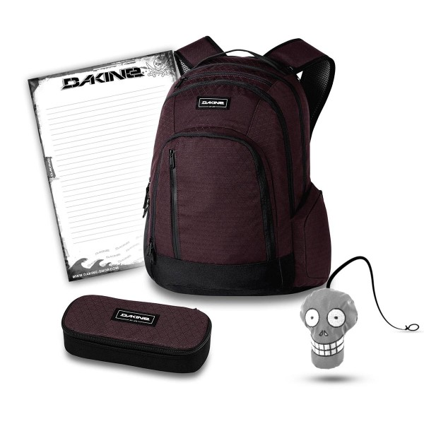 Dakine 101 29L + School Case + Harry + Block Schulset Taapuna