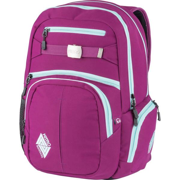 Nitro Hero 37L Rucksack mit Laptopfach Grateful Pink