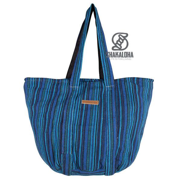 Shakaloha Heach Bag Blau gestreift