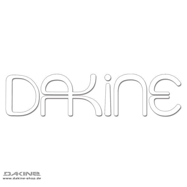 Dakine Lulu Auto Aufkleber White