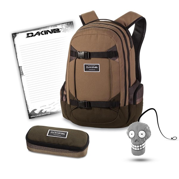 Dakine Mission 25L + School Case + Harry + Block Schulset Field Camo