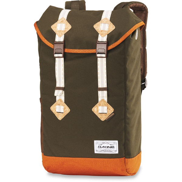 Dakine Trek II 26L Rucksack mit Laptopfach Timber