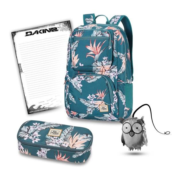 Dakine Jewel 26L + School Case XL + Emma + Block Schulset Waimea