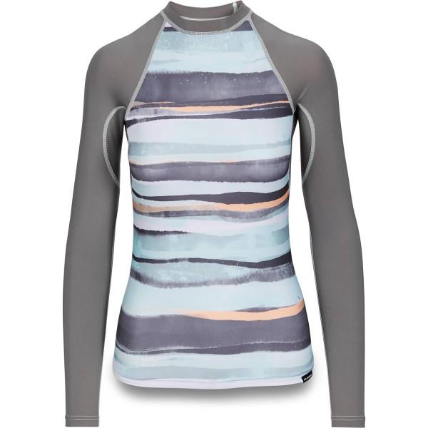 Dakine Womens Flow Print Snug Fit L/S Damen Lycra Pastel Current