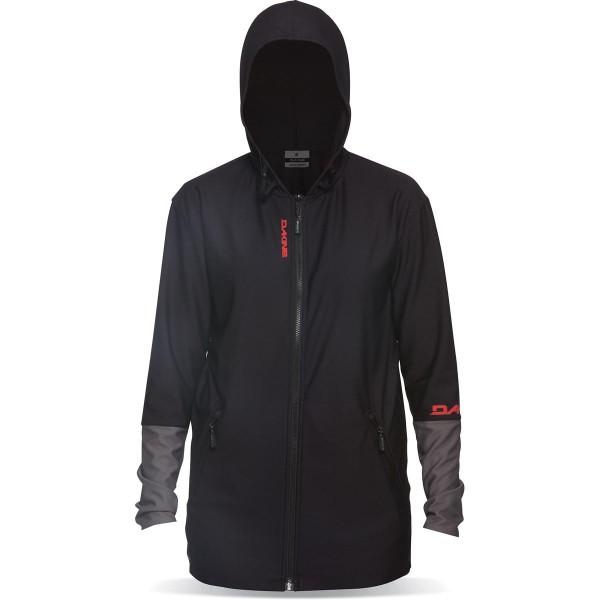 Dakine H2O-Woman Front Zip Hoodie Funktionsjacke Black