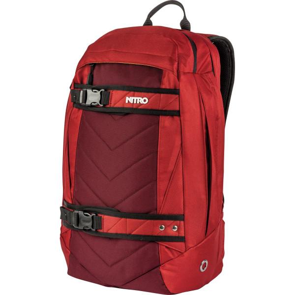 Nitro Aerial 27L Rucksack mit Laptopfach Chili