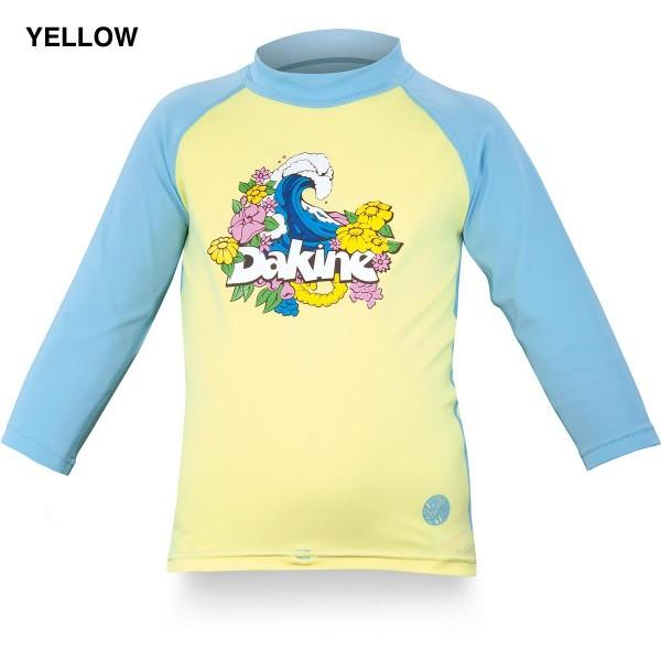 Dakine Toddler Girls Wave Lycra Yellow Blue