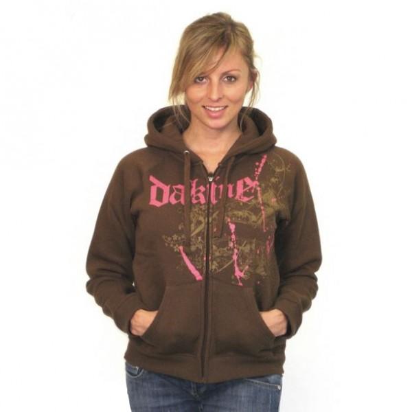 Dakine Womens Wonderland Zip Hoodie Sweatshirt / Pullover Brown