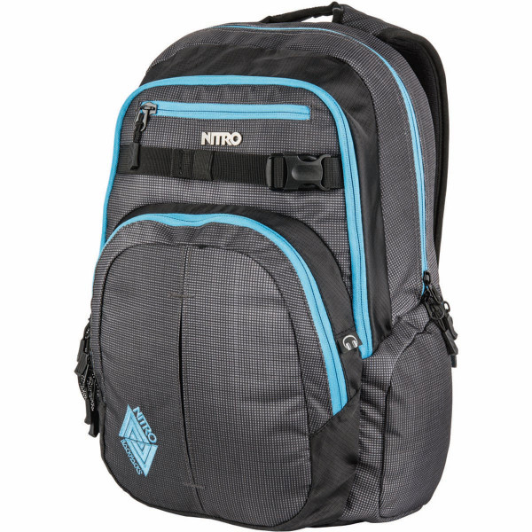 Nitro Chase 35L Rucksack mit Laptopfach Blur Blue Trims