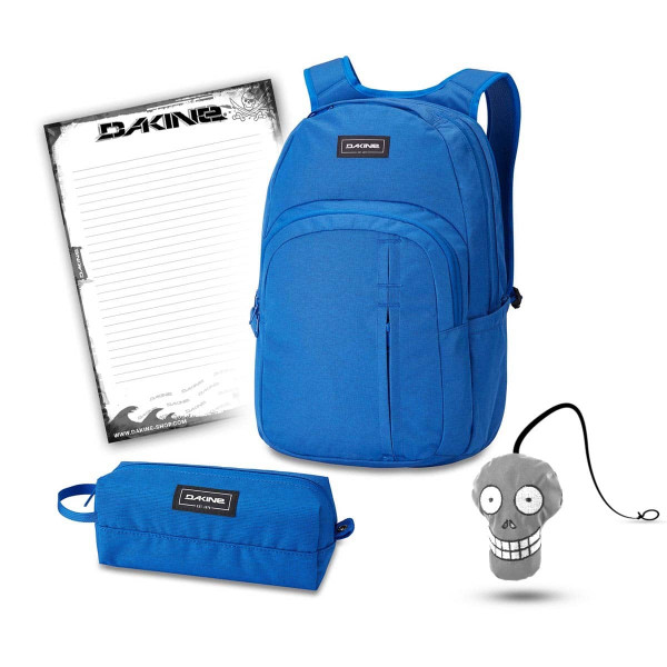 Dakine Campus Premium 28L + Accessory Case + Harry + Block Schulset Cobalt Blue