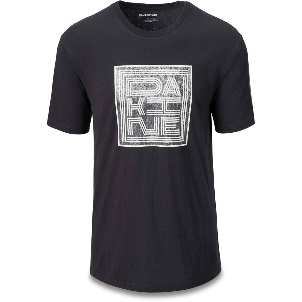 Dakine Linework Roots Herren T-Shirt Washed Black