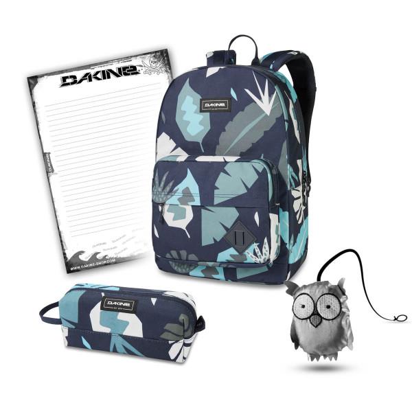 Dakine 365 Pack 30L + Accessory Case + Emma + Block Schulset Abstract Palm
