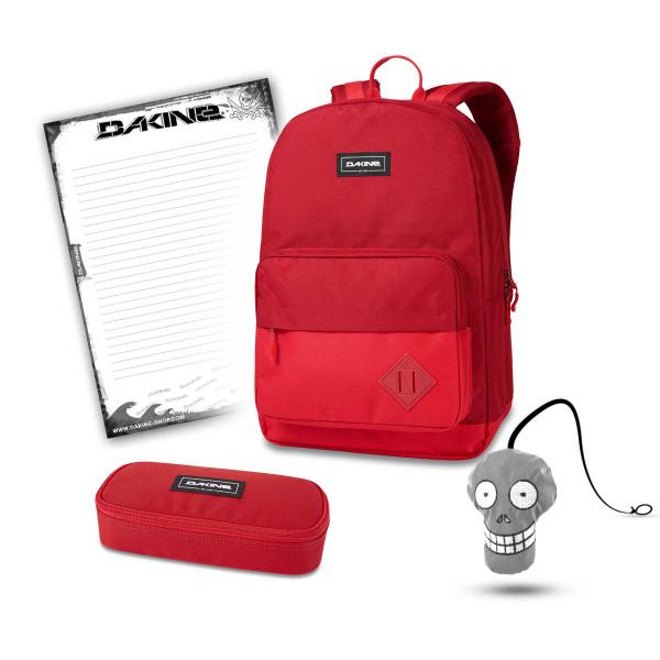 Dakine 365 Pack 30L + School Case + Harry + Block Schulset Deep Crimson