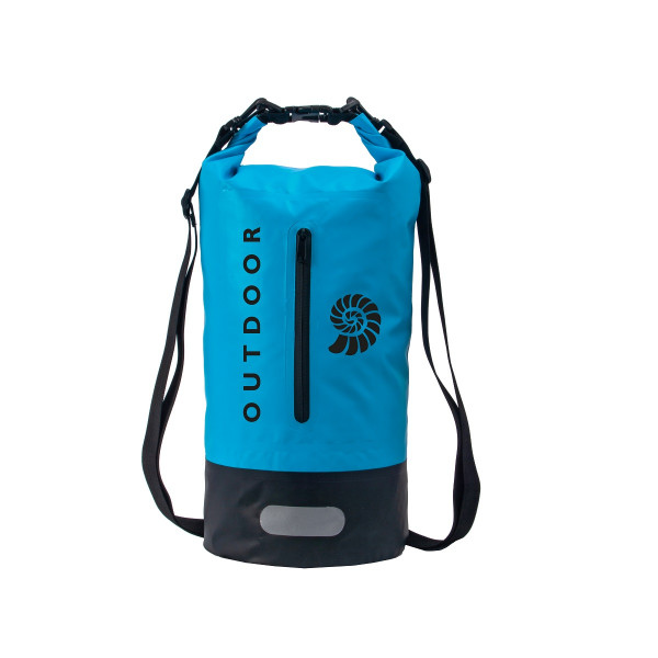 Origin Outdoors Wasserdichter Packsack '500D Plus' 20 L Blau