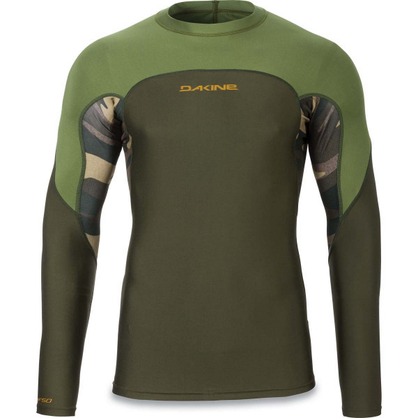 Dakine Wrath Snug Fit L/S Herren Lycra Field Camo
