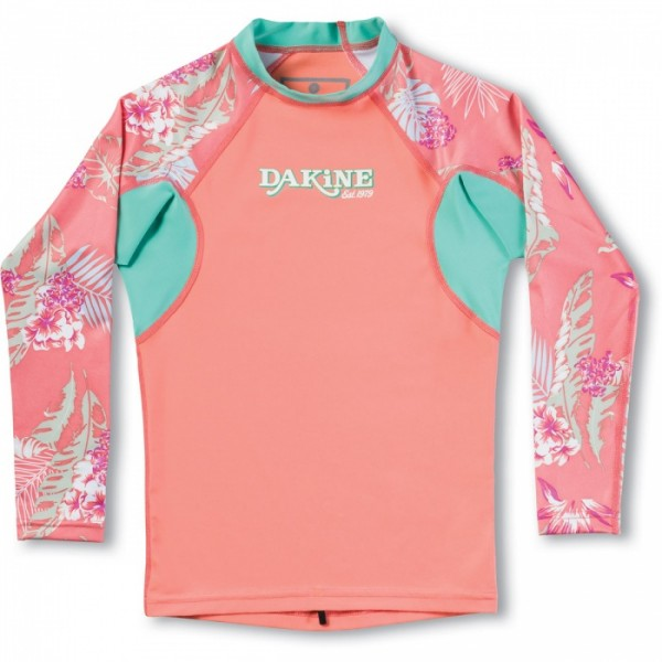 Dakine Girls Classic Snug Fit L/S Kinder Lycra Waikiki