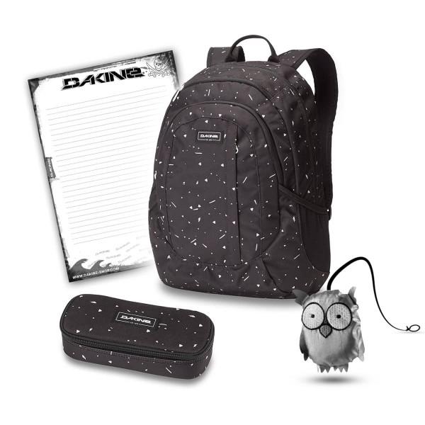 Dakine Garden 20L + School Case + Emma + Block Schulset Thunderdot
