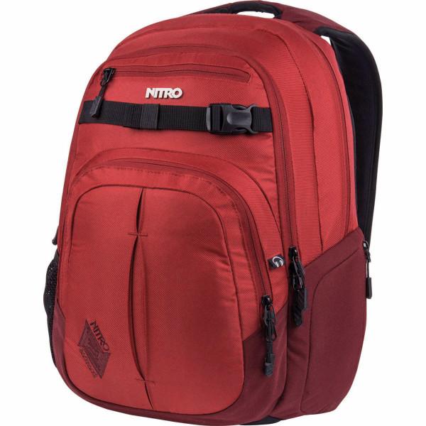Nitro Chase 35L Rucksack mit Laptopfach Chili
