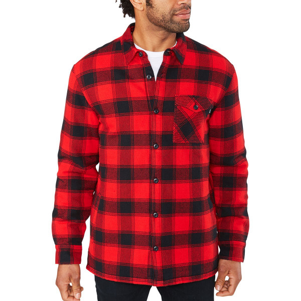 Dakine Hendrix Flannel Jacket Herren Funktionshemd True Red