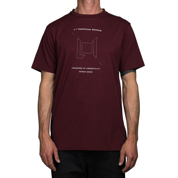 Nitro Wordmark Tee 21 T-Shirt Wine