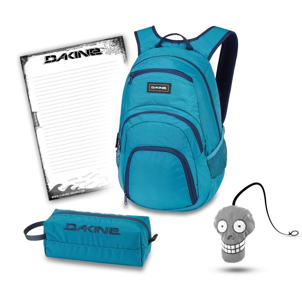 Dakine Campus 25L + Accessory Case + Harry + Block Schulset Seaford