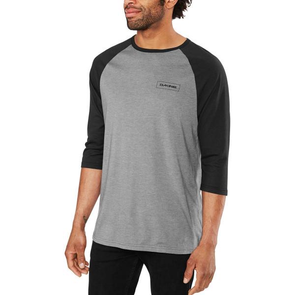 Dakine Walker 3/4 Baseball Tee Herren T-Shirt Black