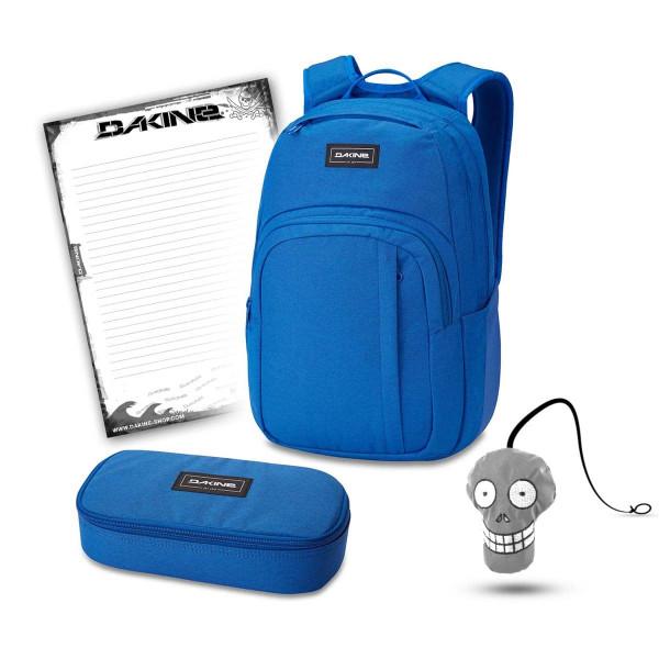 Dakine Campus M 25L + School Case XL + Harry + Block Schulset Cobalt Blue