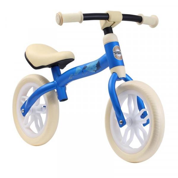 BIKESTAR Kinder Laufrad Superleicht 2-in-1 Hellblau ab 2 Jahre - 10 Zoll