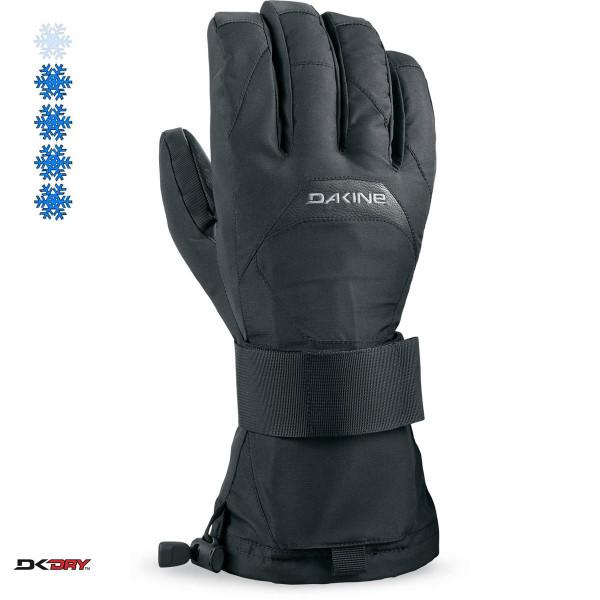 Dakine Wristguard Glove Ski- / Snowboard Handschuhe mit Handgelenkschutz Black