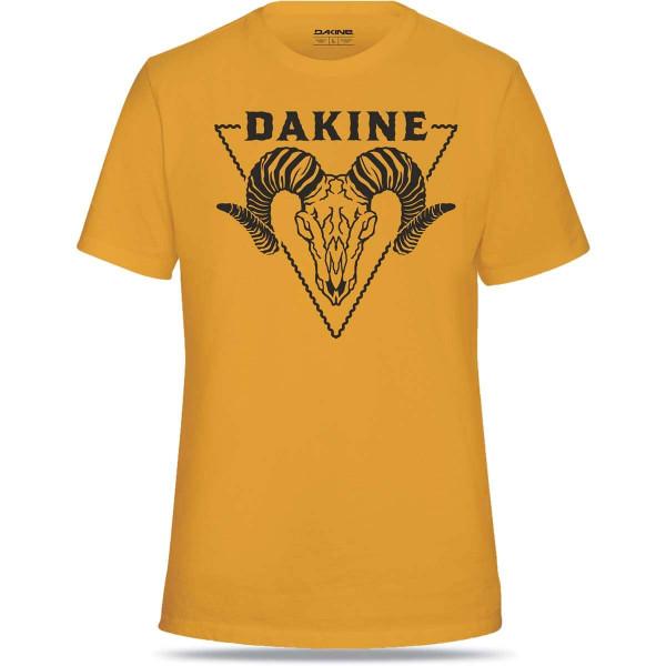 Dakine Badlands S/S Tech T Herren Funktionsshirt Kurzarm Golden Glow