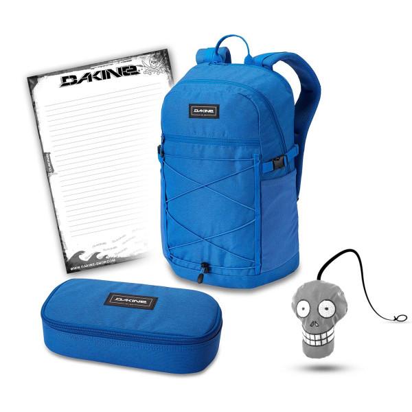 Dakine WNDR Pack 25L + School Case XL + Harry + Block Schulset Cobalt Blue
