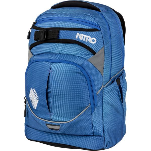 Nitro Superhero 30L Rucksack Blur Brilliant Blue