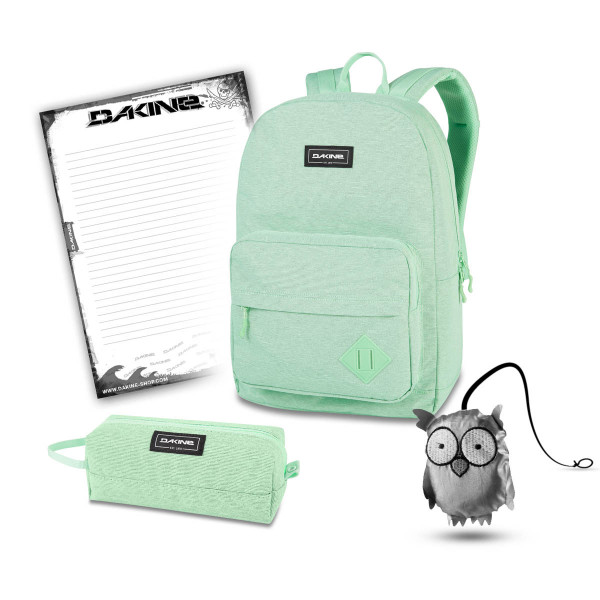 Dakine 365 Pack 30L + Accessory Case + Emma + Block Schulset Dusty Mint