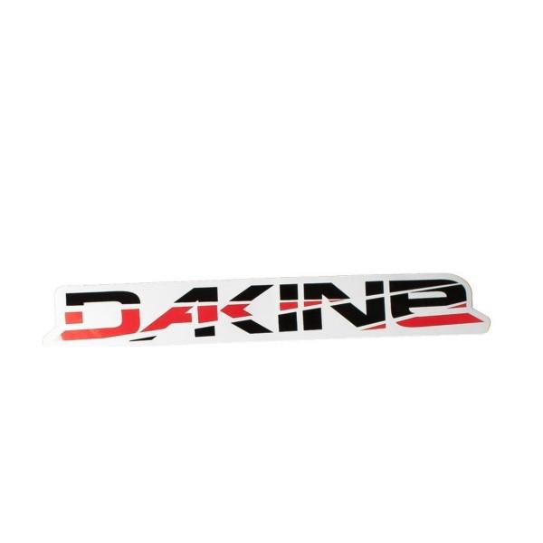 Dakine Shift Medium Aufkleber Red / Black (20.5 x 3 cm)