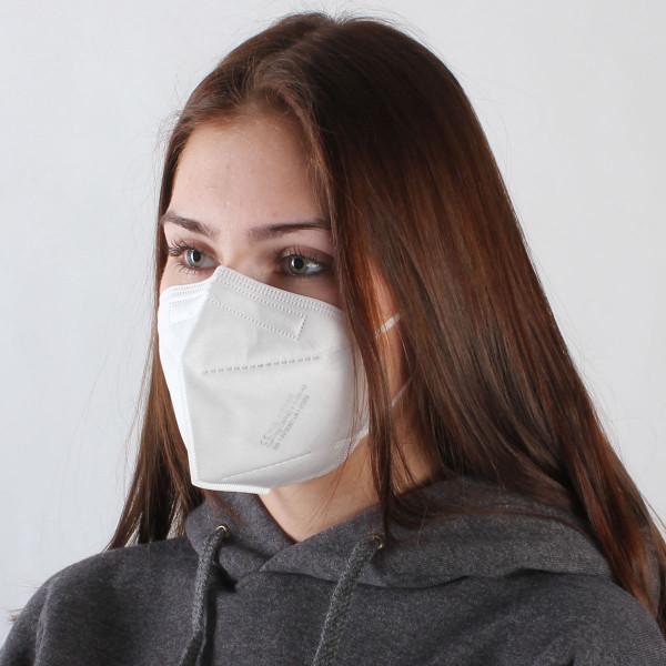 FFP2 Maske - Made in Germany - 5er Pack