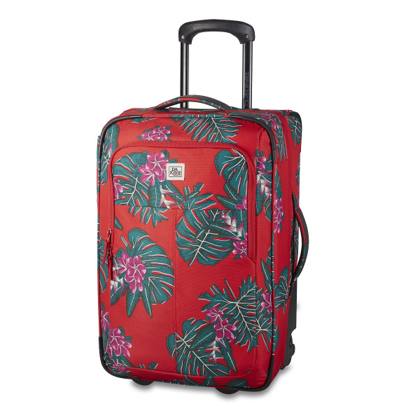 Dakine Carry On Roller 42L Reisetrolley / Koffer Red Jungle Palm