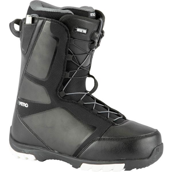 Nitro Sentinel Tls Boot 21 Snowboard Boots Black-White