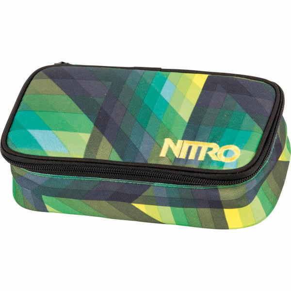 Nitro Pencil Case XL Federmäppchen Geo Green