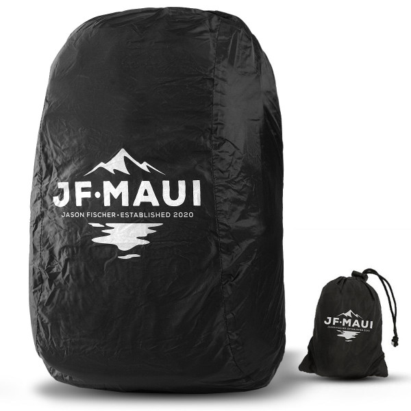 JF Maui Rain Cover Large Regenschutzhülle für Rucksäcke der Größen 20 - 33L
