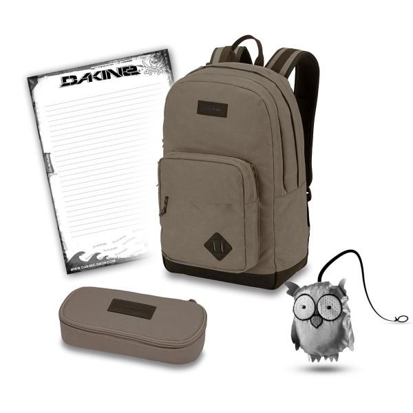 Dakine 365 Pack DLX 27L + School Case + Emma + Block Schulset Elmwood