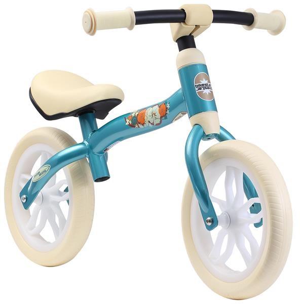 BIKESTAR Kinder Laufrad Superleicht 2-in-1 Türkis ab 2 Jahre - 10 Zoll
