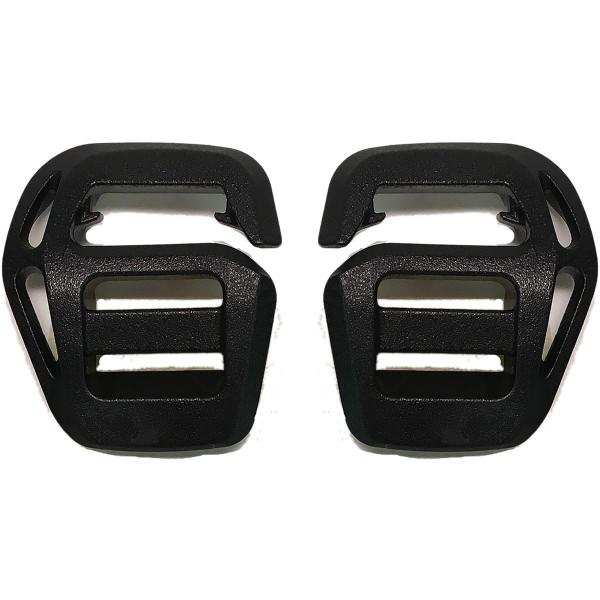 Dakine Replace Plastic Hook 15mm (Pair) Black