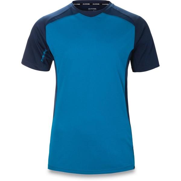 Dakine Charger S/S Jersey Herren Bike Jersey Blue Rock / Midnight